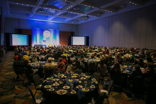The luncheon had over 400 attendees